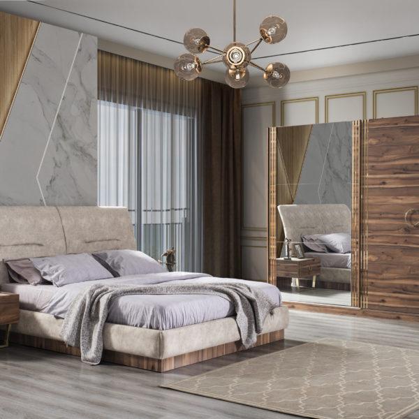 Buse Yatak Odası Gold