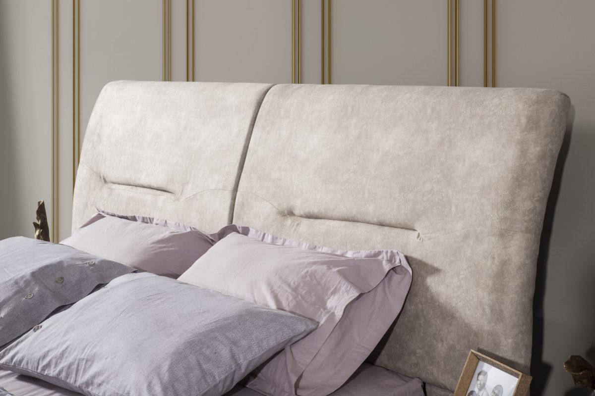 Buse Yatak Odası Gold Karyola detay