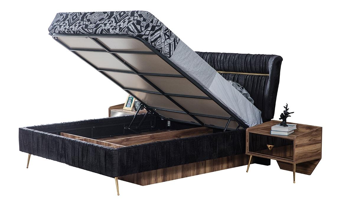 Mona Yatak Odası Karyola Bazalı