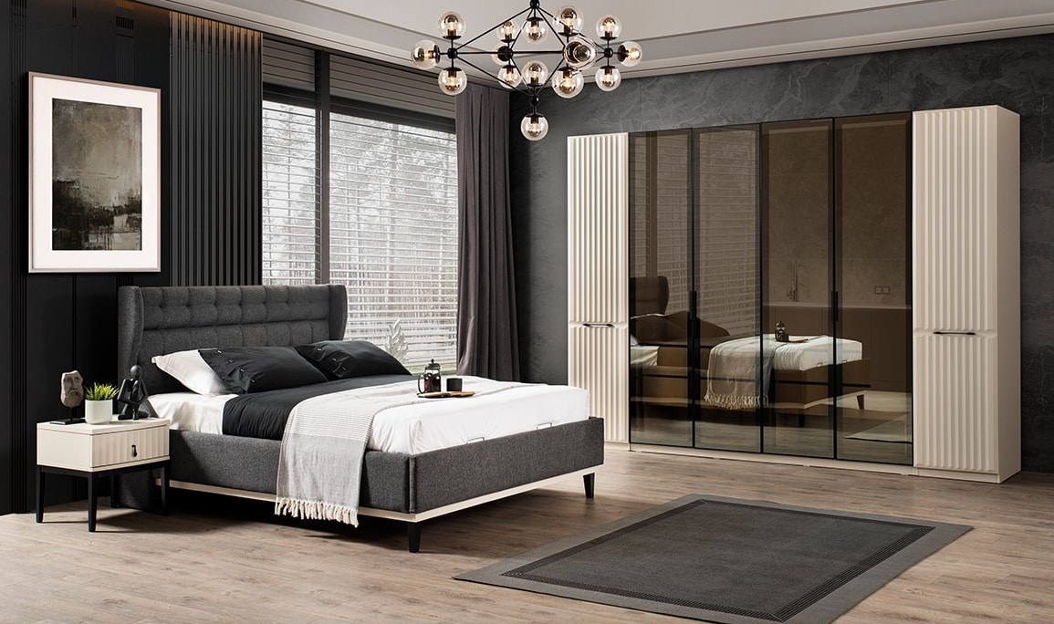 Lüx İnci Yatak Odası Takımı