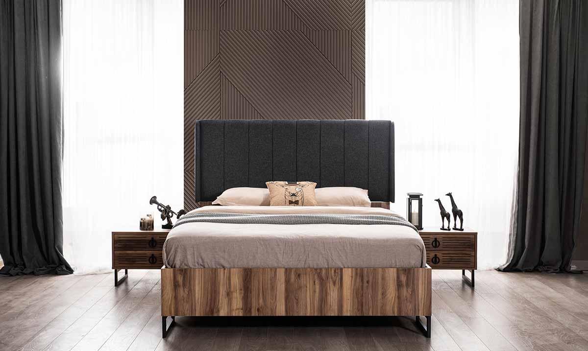 İdil Ceviz Yatak Odası Takım