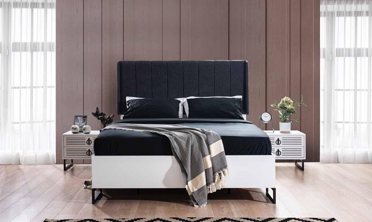 İdil Beyaz Yatak Odası Takım