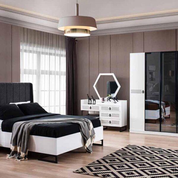 İdil Beyaz Yatak Odası Takımı