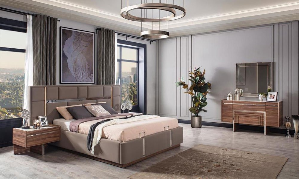 Dolce Ceviz Yatak Odası T