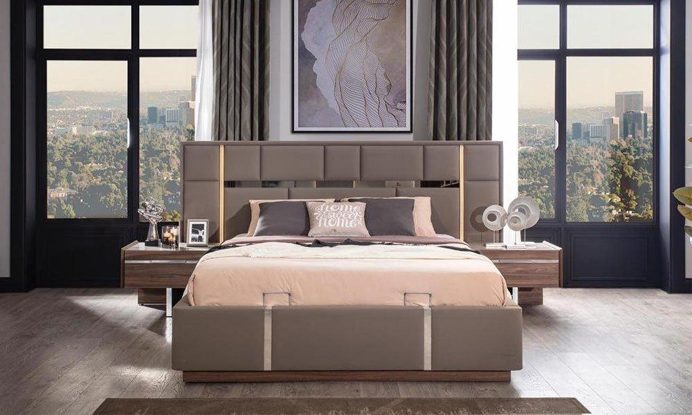 Dolce Ceviz Yatak Odası Tak
