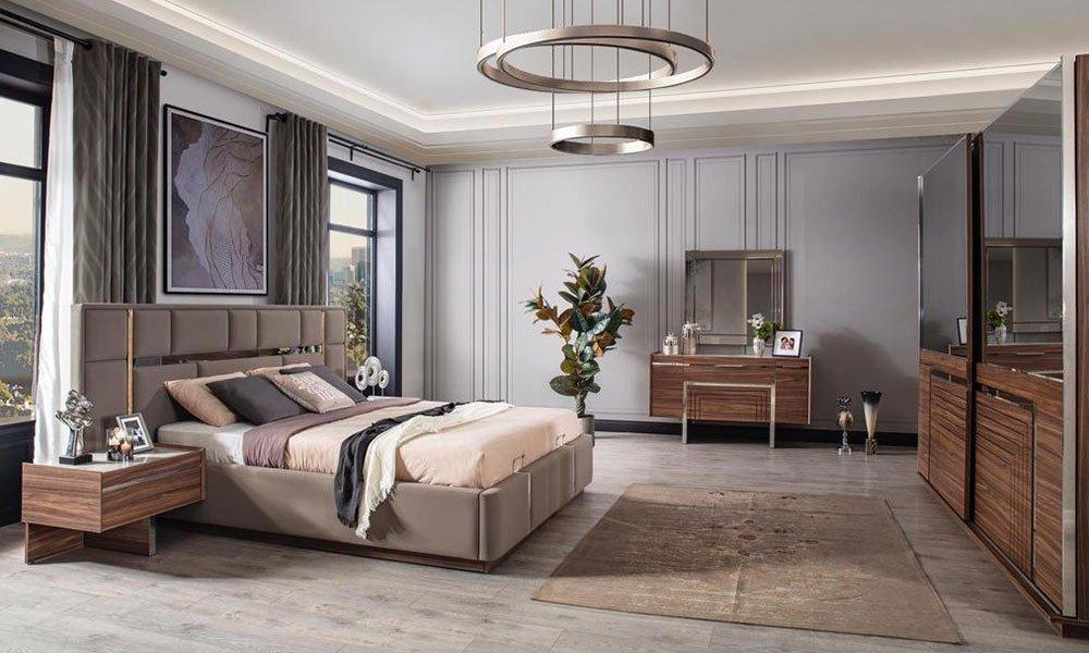 Dolce Ceviz Yatak Odası Takı